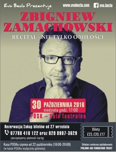 Recital Zbigniewa Zamachowskiego